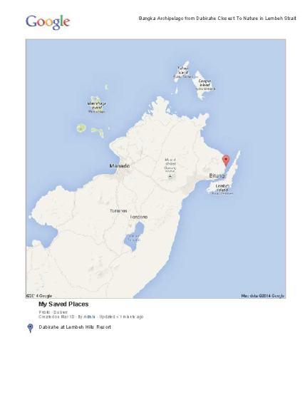 Dive Bangka, Lembeh, and Bunaken