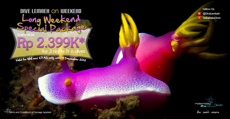 Long Weekend Dive Lembeh Package