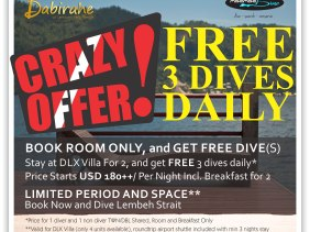 Scuba Diving Lembeh Strait, Special Offer Dive Packages