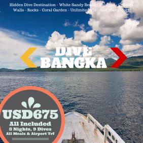 Dive Bangka, Gangga, Lihaga