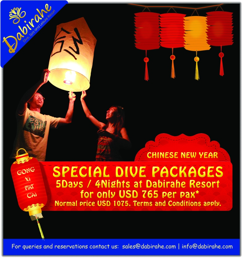 Dabirahe Chinese New Year Promo